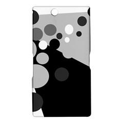 Gray decorative dots Sony Xperia Z Ultra