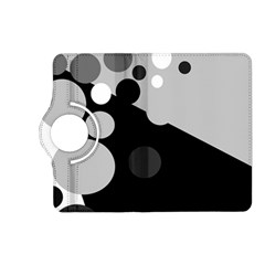 Gray decorative dots Kindle Fire HD (2013) Flip 360 Case