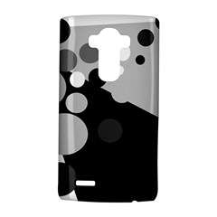 Gray decorative dots LG G4 Hardshell Case