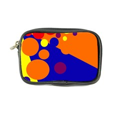 Blue and orange dots Coin Purse
