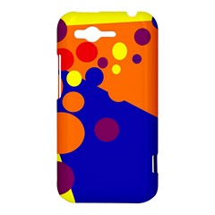 Blue and orange dots HTC Rhyme