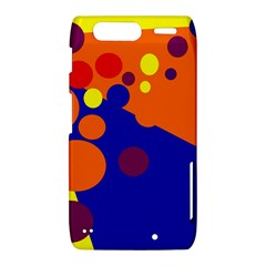 Blue and orange dots Motorola Droid Razr XT912