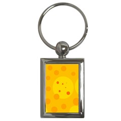 Abstract sun Key Chains (Rectangle)