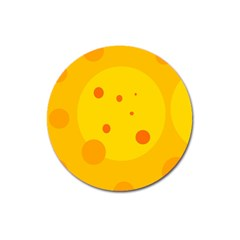 Abstract sun Magnet 3  (Round)