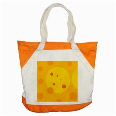 Abstract sun Accent Tote Bag