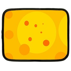 Abstract sun Netbook Case (Large)