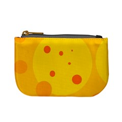 Abstract sun Mini Coin Purses