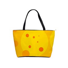 Abstract sun Shoulder Handbags