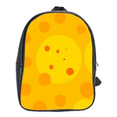 Abstract sun School Bags(Large)