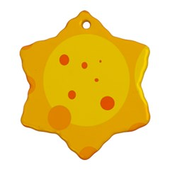 Abstract sun Snowflake Ornament (2-Side)