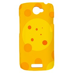Abstract sun HTC One S Hardshell Case