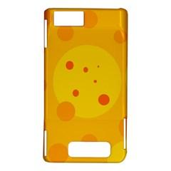 Abstract sun Motorola DROID X2