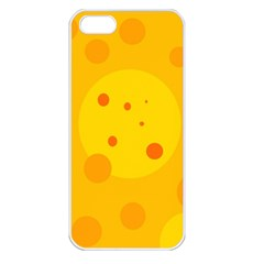 Abstract sun Apple iPhone 5 Seamless Case (White)