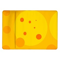 Abstract sun Samsung Galaxy Tab 10.1  P7500 Flip Case