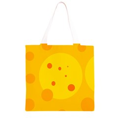 Abstract sun Grocery Light Tote Bag