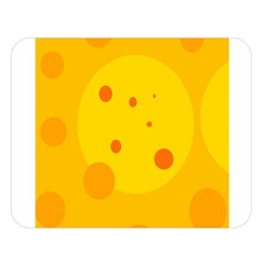Abstract sun Double Sided Flano Blanket (Large)