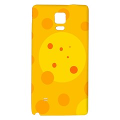 Abstract sun Galaxy Note 4 Back Case