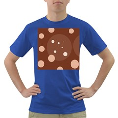 Brown abstract design Dark T-Shirt