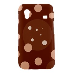 Brown abstract design Samsung Galaxy Ace S5830 Hardshell Case