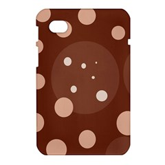 Brown abstract design Samsung Galaxy Tab 7  P1000 Hardshell Case