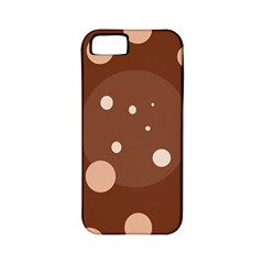 Brown abstract design Apple iPhone 5 Classic Hardshell Case (PC+Silicone)