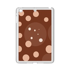 Brown abstract design iPad Mini 2 Enamel Coated Cases