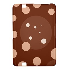 Brown abstract design Kindle Fire HD 8.9