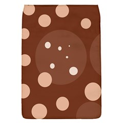 Brown abstract design Flap Covers (S)