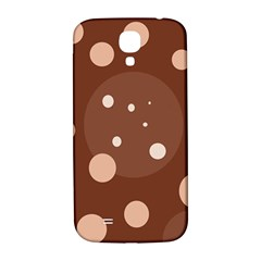 Brown abstract design Samsung Galaxy S4 I9500/I9505  Hardshell Back Case