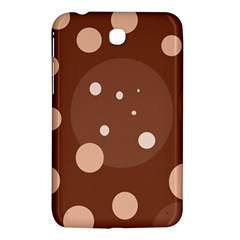 Brown abstract design Samsung Galaxy Tab 3 (7 ) P3200 Hardshell Case