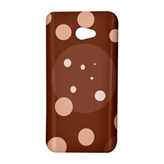 Brown abstract design HTC Butterfly S/HTC 9060 Hardshell Case