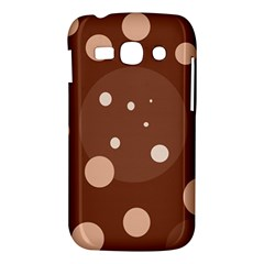 Brown abstract design Samsung Galaxy Ace 3 S7272 Hardshell Case