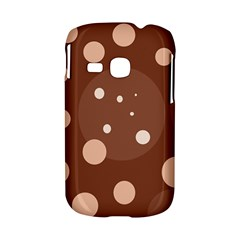 Brown abstract design Samsung Galaxy S6310 Hardshell Case