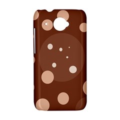 Brown abstract design HTC Desire 601 Hardshell Case