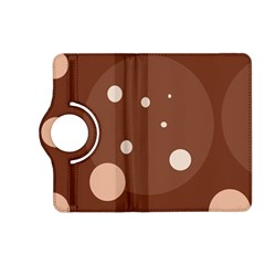 Brown abstract design Kindle Fire HD (2013) Flip 360 Case