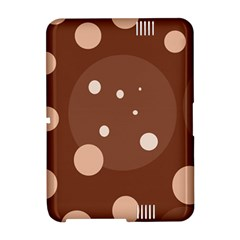 Brown abstract design Amazon Kindle Fire (2012) Hardshell Case