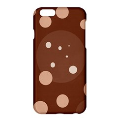 Brown abstract design Apple iPhone 6 Plus/6S Plus Hardshell Case