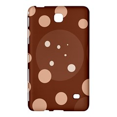 Brown abstract design Samsung Galaxy Tab 4 (8 ) Hardshell Case