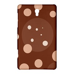 Brown abstract design Samsung Galaxy Tab S (8.4 ) Hardshell Case