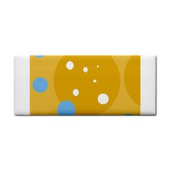 Blue and yellow moon Hand Towel