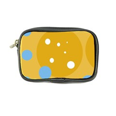 Blue and yellow moon Coin Purse