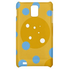 Blue and yellow moon Samsung Infuse 4G Hardshell Case