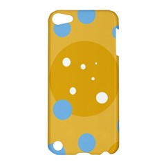 Blue and yellow moon Apple iPod Touch 5 Hardshell Case
