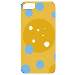 Blue and yellow moon Apple iPhone 5 Classic Hardshell Case