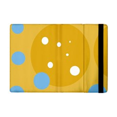 Blue and yellow moon Apple iPad Mini Flip Case