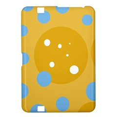Blue and yellow moon Kindle Fire HD 8.9