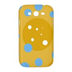 Blue and yellow moon Samsung Galaxy Grand DUOS I9082 Hardshell Case