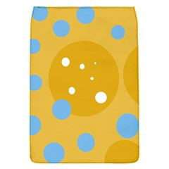 Blue and yellow moon Flap Covers (S)