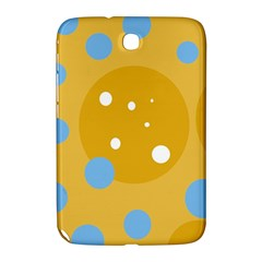 Blue and yellow moon Samsung Galaxy Note 8.0 N5100 Hardshell Case