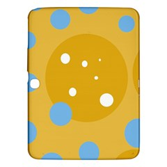 Blue and yellow moon Samsung Galaxy Tab 3 (10.1 ) P5200 Hardshell Case